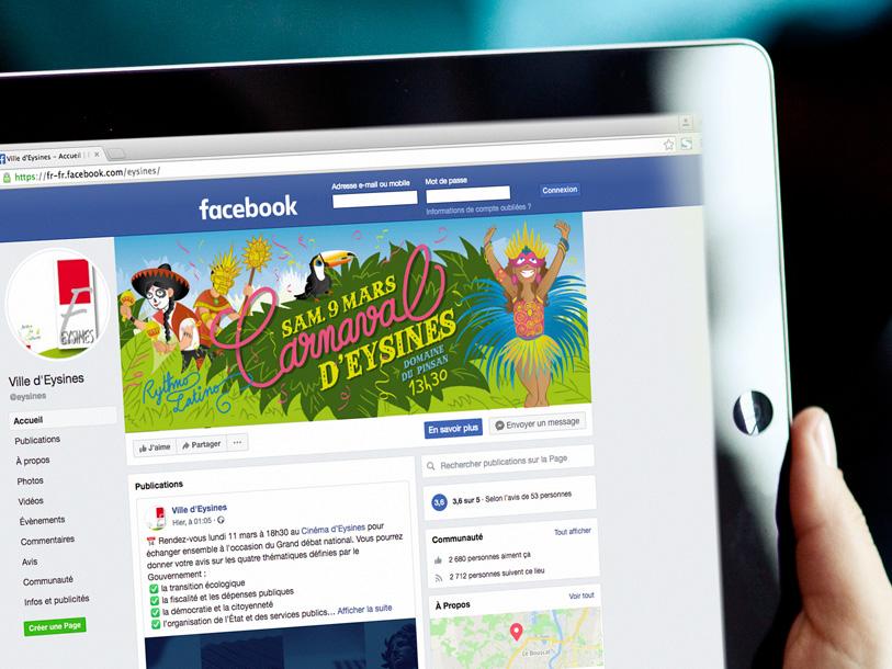 carnaval eysines 2019 - banniere facebook