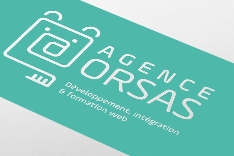 agence orsas creation logo blanc