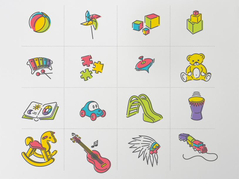 creche ptit bout chou - Illustrations et pictogrammes