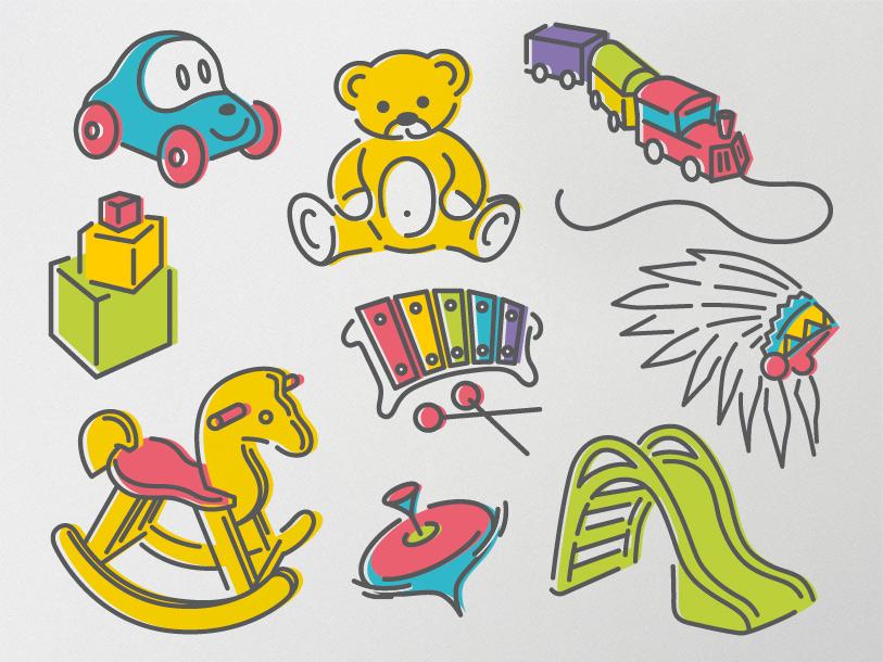 creche ptit bout chou Illustrations et pictogrammes