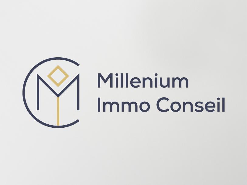 Millenium Immo Conseil - création logo
