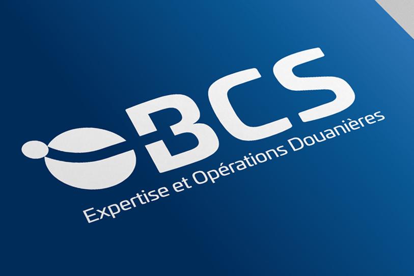 Bansard International - création logo BCS blanc