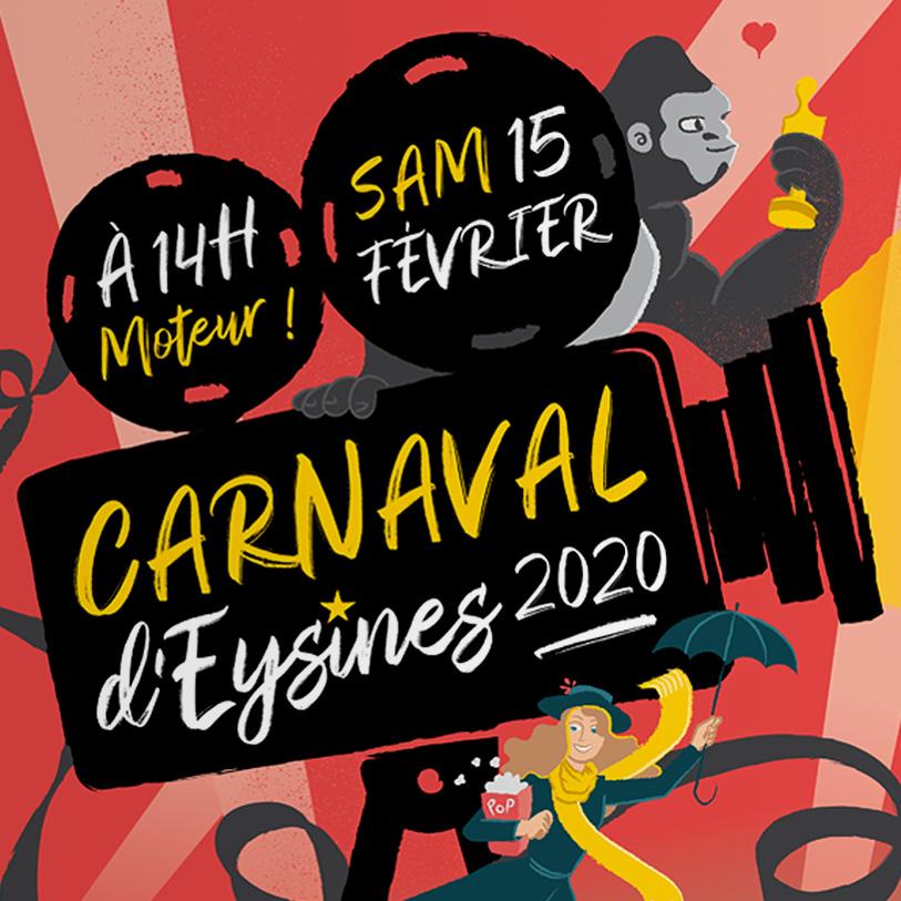 carnaval eysines 2020 - detail visuel 2